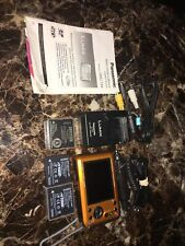 Panasonic LUMIX DMC-TS4 12.1MP Waterproof Tough Digital Camera - Orange