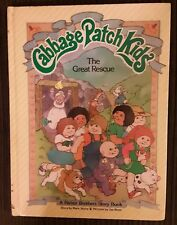 Cabbage Patch Kids THE GREAT RESCUE 1984 Hardcover Mark Taylor Jan Brett