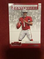 2019 Panini Contenders Football Rookie of The Year RC ~ KYLER MURRAY Cardinals