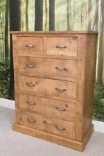 NEW RUSTIC PLANK CHEST OF DRAWERS SOLID WOOD * handmade to order*