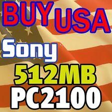 512MB Sony VAIO PCG-GRZ630 PCG-GRZ660 MEMORY RAM