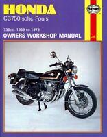 Honda CB750 K1-7,F1-2 SOHC 69-79 Haynes Manual