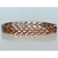 ARTHRITIS COPPER HIGH POWER MAGNETIC BRACELET  MAGNET EVERY LINK MBC114