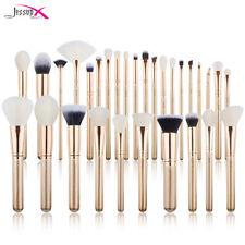 Make Up Pinsel Set 30 Schminkpinsel Eyeliner Lidschatten Bürsten Kosmetik Kit DE