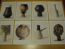 Set of 8 Exhibition Postcards Hans Coper & Lucie Rie Potters in Parallel 1997