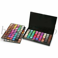 Pro 162 Colors Shimmer Matte Cosmetic Eyeshadow Powder Palette Makeup Set Kit