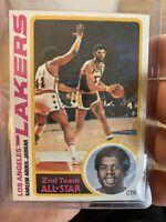 1978 - 1979 Topps Kareem Abdul-Jabbar Los Angeles Lakers #110 Basketball Card🔥