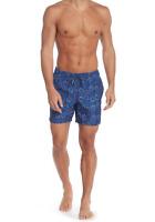 SLATE & STONE Fireworks Print Swim Shorts Blue NEW NWT $98