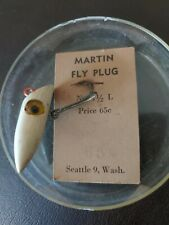 New listing vintage wooden fly Fishing Top Water Surface plug