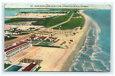Tides Hotel & Bath Club Redington Beach Florida FL Postcard Hartman Litho