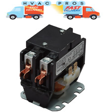 24 volt Condenser Contactor Relay, Double 2 Pole 40 Amp