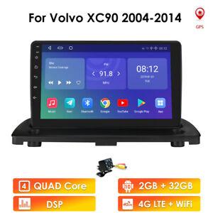 "9""Android10.0 Car Stereo Radio GPS Sat Nav DAB BT WIFI For Volvo XC90 2004-2014"