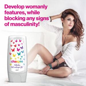 Changes T-Blocker Anti-androgen gel. Testosterone blocker, feminizing, woman