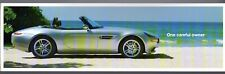 BMW Z8 Roadster 1999 UK Market Single Sheet Brochure James Bond