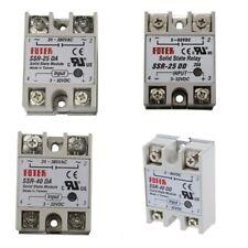 Solid State Relay SSR-40 DA/DD,SSR-25-DD/DA 25A/40A 3-32VDC/5-380V Heat Sink