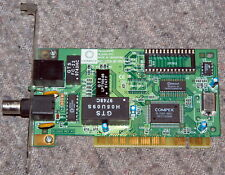 COMPEX ReadyLINK RL2000-PCI BNC RJ-45 ethernet LAN coax PCI adapter FULL WORK