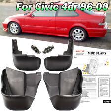 For Honda Civic Sedan Coupe 96-00 Front Rear Mud Flaps Splash Guards Mudguards