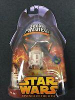 StarWars Revenge Of The Sith ROTS Sneak Peak R4-G9 Astromech Figure 2005 MOC