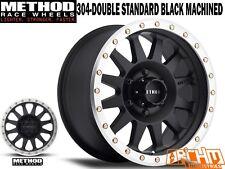 METHOD RACE WHEELS 304 DBL STD / MACHINED LIP 15X8   -24 OFFSET   4WD WHEELS