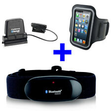 BLUETOOTH BRUSTGURT + SPEED / CADENCE zu RUNTASTIC + Armband iPhone 6/7/8/X/11
