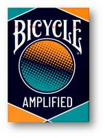 Bicycle Amplified Jugando a las Cartas Póquer Juego de Cartas Cardistry