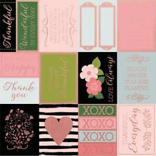 """Kaisercraft - Full Bloom 12x12"""" s/sided foil specialty paper BLOOMING"""