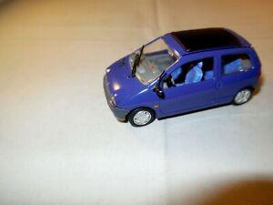 1:43 VITESSE Modellauto RENAULT TWINGO Kleinwagen Faltdach-Cabrio lila 1:43
