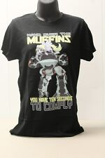 My Little Pony (MLP) Hand Over the Muffins Black Juniors T-Shirt Small - New