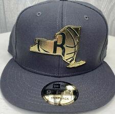 NBA Brooklyn Nets Gold Stated Metal Badge Snapback Hat 9Fifty New Era Cap
