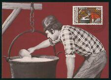 Mayfairstamps Liechtenstein FDC 1982 Farmer Milk Pail Maximum First Day Card wwr