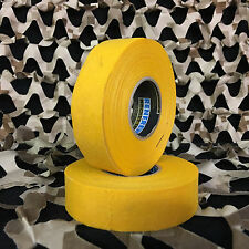 New Renfrew Cloth Colored Hockey Tape Paintball Tank Grip - Yellow (2 Pack)