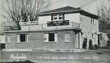 Postcard Ralph's Restaurant & Catering, Lima, Ohio - circa 1950s