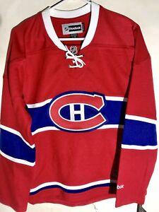 Reebok Women's Premier NHL Jersey Montreal Canadiens Team Red Alt sz M