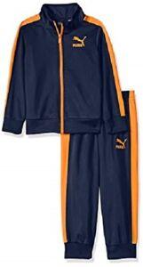 NWT PUMA Toddler Boy Two-Piece Tracksuit Set Jacket/Pants SELECT SIZE & COLOR