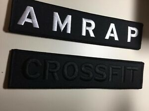 """1x Custom Name Patch 9""""x2"""" Hook And Loop CrossFit Tactical Plate Weight Vest *"""