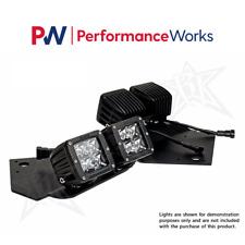 Rigid Industries Fits 09-14 Ford RAPTOR Fog Dually LED Light Complete Kit #40235