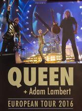 QUEEN + Adam Lambert Padova 2016 rare meet and greet tour poster 40 x 60 cm