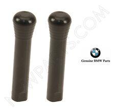 2 Front BMW E23 E28 E30 E32 E34 318i Door Lock Knob 51211852140 Genuine
