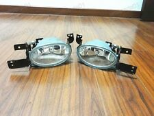 1Pair Front Fog Lights Clear L + R For Honda Civic 2012-2013