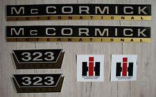 IHC Mc Cormick Typenaufkleber 353 Gold 2 x Logo Emblem Sticker Label ca.20x7,5cm