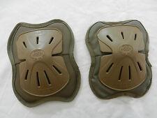 Coudières genouillères camouflées militaires-air soft-paintball Sagaert
