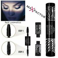 New Max Factor Excess Volume Mascara Extreme Impact 2 Steps - 01 Black 20ml