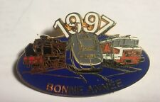 PIN'S COLLECTION TGV BONNE ANNEE 1997 FINITION DOREE