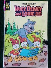 WALT DISNEY - HUEY, DEWEY AND LOUIE, JUNIOR WOOD CHUCKS COMIC BOOK 1981