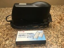 STANLEY BOSTITCH ELECTRIC STAPLER MODEL 02210 With  Extra Box Of Staples