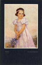 Roswitha ragazza Portrait Emil firnrohr Hueber di 1938 (N)