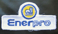 "ENERPRO EMBROIDERED SEW ON PATCH ADVERTISING UNIFORM LOGO 4"" x 2"""