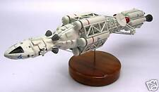 Ultra Probe Space 1999 Fictional Spacecraft Mahogany Kiln Dry Wood Model Large
