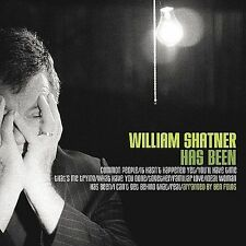 Has Been by William Shatner (CD, Oct-2004, Shout! Factory)