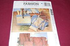 McCalls Pattern # 3693 - Duffle Bag, Makeup Case, Tote Bag, Eyeglass Case - NEW